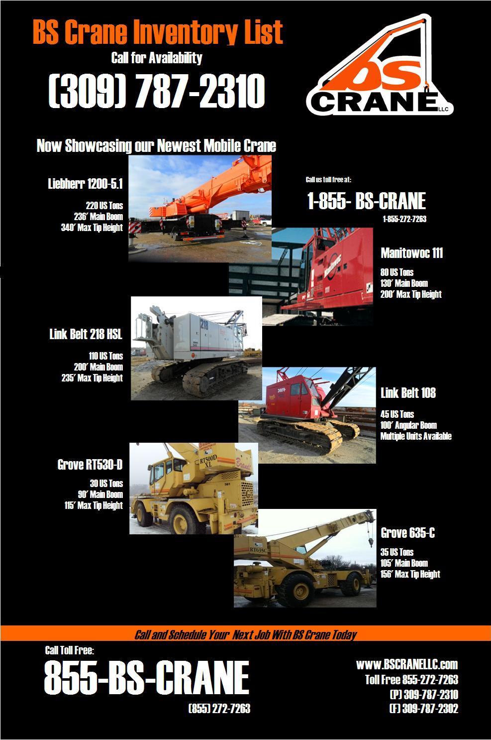 Equipment List 2012